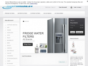 Filtersonline - online shop with water filtres